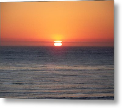Western Sunset Metal Print by Angi Parks