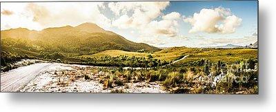Western Tasmania Mountain Range Metal Print by Jorgo Photography - Wall Art Gallery