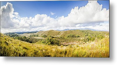 Western Tasmania Panorama Metal Print by Jorgo Photography - Wall Art Gallery