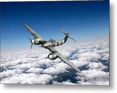 Metal Print featuring the photograph Westland Whirlwind Portrait by Gary Eason