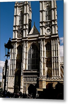 Westminster Abbey Metal Print by Ira Shander