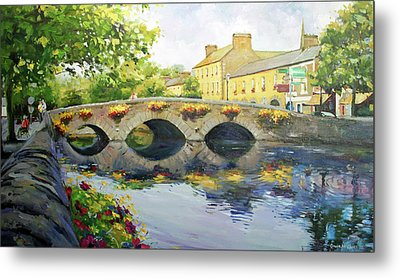 Westport Bridge County Mayo Metal Print by Conor McGuire