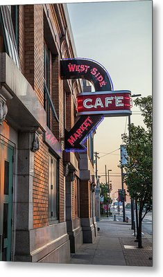 Westsidemarketcafe Metal Print