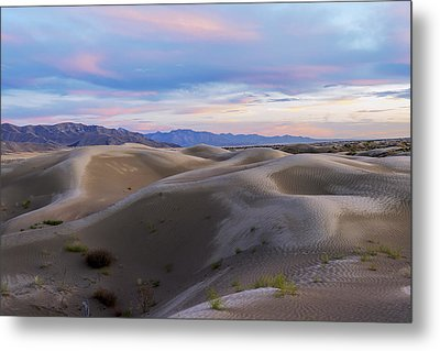 Wet Dunes Metal Print by Chad Dutson