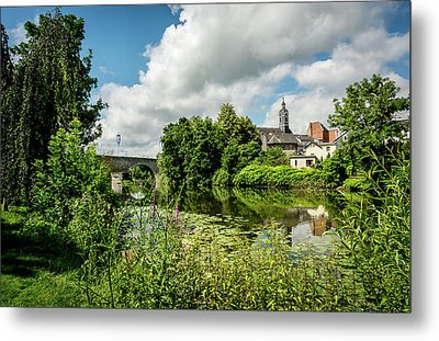 Metal Print featuring the photograph Wetzlar Germany by David Morefield