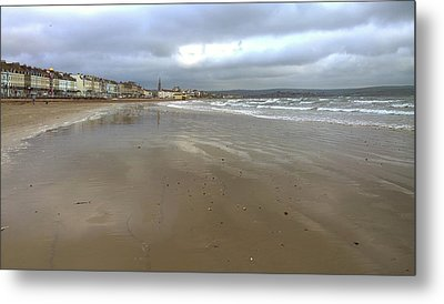 Weymouth Morning Metal Print