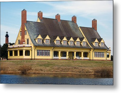 Whalehead Club Metal Print by Kelvin Booker