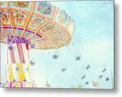 What A Ride Metal Print by Amy Tyler