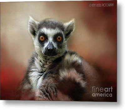What Big Eyes You Have Metal Print