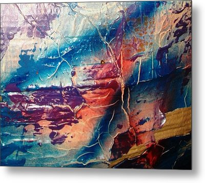 What Have We Done To The Sea Metal Print by Bruce Combs - REACH BEYOND