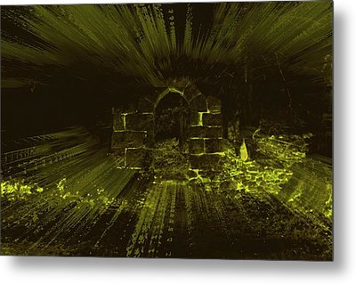 What Lies Beyond Metal Print