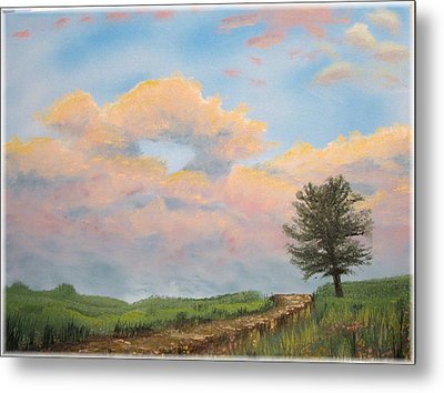 What The Tree Gets To See Metal Print by Kenneth McGarity