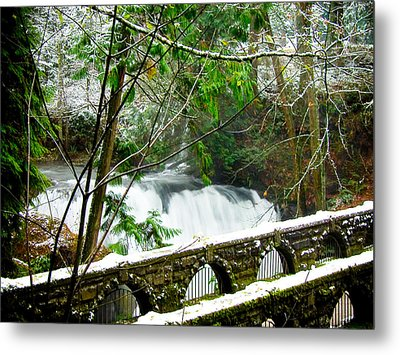Whatcom Falls 3 Metal Print