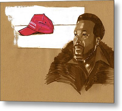 Whats Going On Metal Print by Carey Muhammad