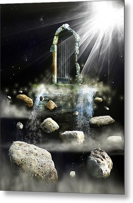 What's The Next Step  Metal Print