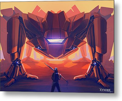 What's The Password? Metal Print