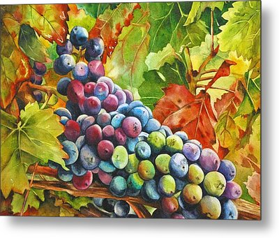 What's Your Grape Metal Print