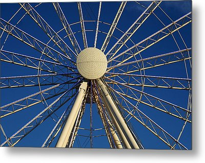 Wheel In The Sky Metal Print by Laurie Perry