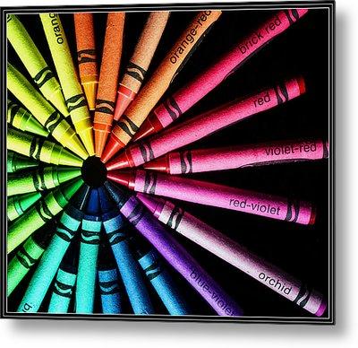 Wheel Of Color Metal Print by Judi Quelland