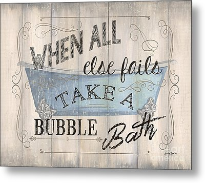 When All Else Fails Metal Print by Debbie DeWitt