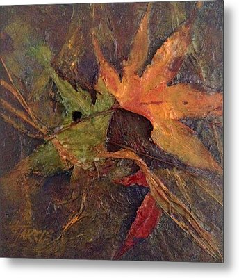 Metal Print featuring the painting When Autumn Comes... by Helen Harris