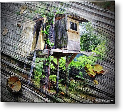 Metal Print featuring the photograph When Boys Dream by Brian Wallace