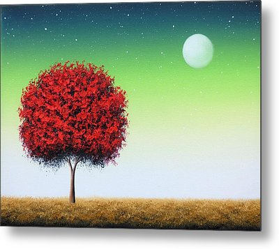 When Follows The Night Metal Print by Rachel Bingaman
