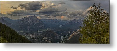 When In Banff Canada Metal Print by Angela A Stanton