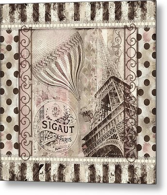 When In Paris Metal Print by Mindy Sommers