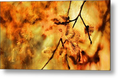Metal Print featuring the digital art When Spring Awakens by Fine Art By Andrew David