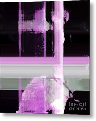 When The Light Goes Purple  Metal Print by Fania Simon