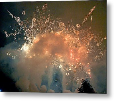 When The Smoke Clears Metal Print by Jim DeLillo