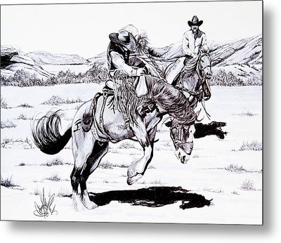 When Things Get Rocky Metal Print by Cheryl Poland