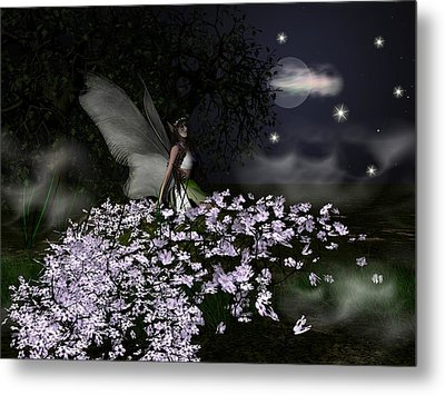 When You Wish Upon A Star Metal Print by Eva Thomas
