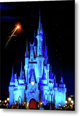 When You Wish Upon A Star Metal Print