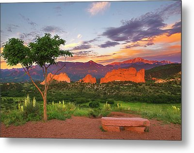 Metal Print featuring the photograph Where Beauty Overwhelms by Tim Reaves