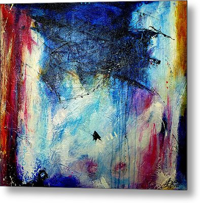 Where Does The Time Go Metal Print by Tracy Bonin