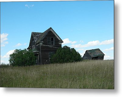 Where Dreams Whirled In Prairie Winds Metal Print by Jeff Swan