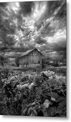 Where Ghosts Of Old Dwell And Hold Metal Print