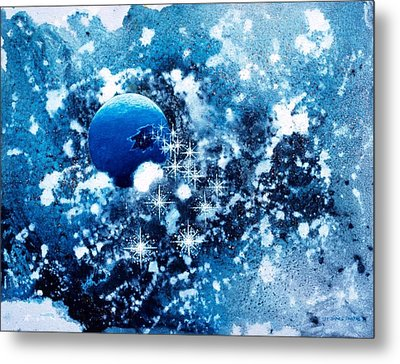 Where Stars Are Born Metal Print by Lee Pantas
