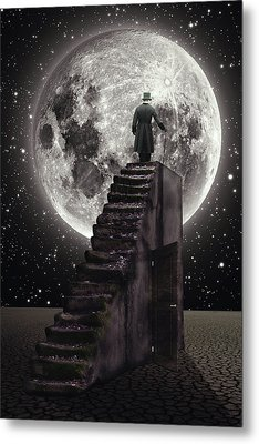 Where The Moon Rise Metal Print