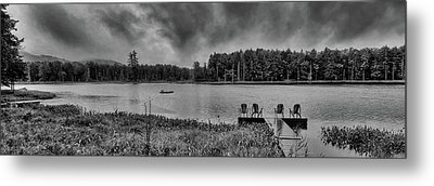 Metal Print featuring the photograph Where To View Twin Ponds by David Patterson