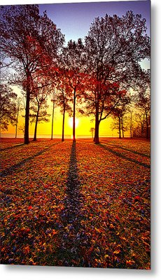 Where You Have Been Is Part Of Your Story Metal Print by Phil Koch