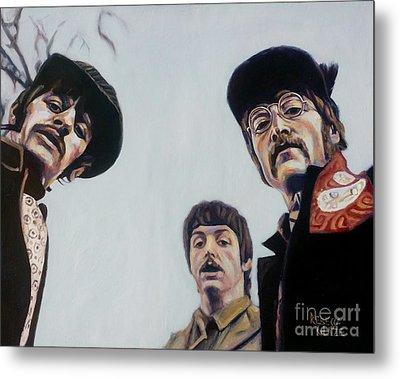 Where's George? Metal Print