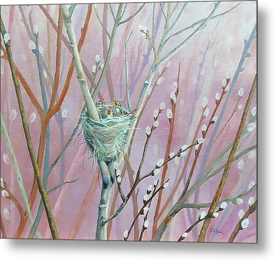 Metal Print featuring the painting Where's Mama by Susan DeLain
