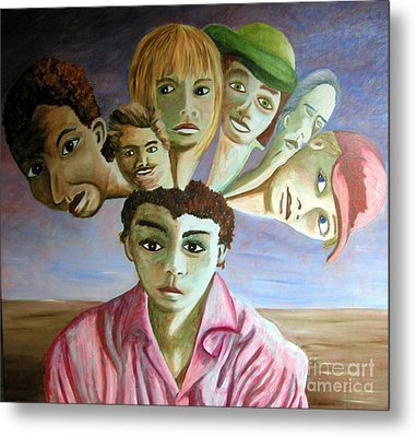 Which Of My Sub Personalities Is The Real Me Metal Print by Tanni Koens