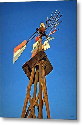 Which Way The Wind Blows Metal Print by Glenn McCarthy Art and Photography
