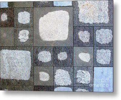 While We Were Having Lunch It Rained Metal Print by Ethna Gillespie