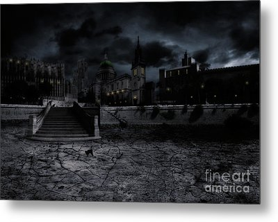 Whilst The City Sleeps Metal Print by John Edwards