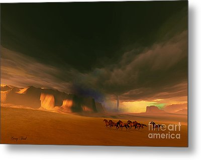 Whirlwind Metal Print by Corey Ford